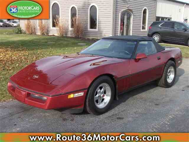 Picture of 1987 Corvette located in Dublin Ohio - $6,975.00 Offered by Route 36 Motor Cars - MR4P