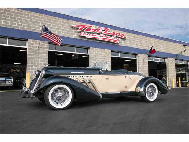 Picture of Classic '36 Auburn Speedster - $104,995.00 - MRAU