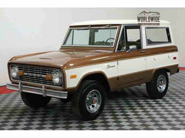 Picture Of 1975 Bronco