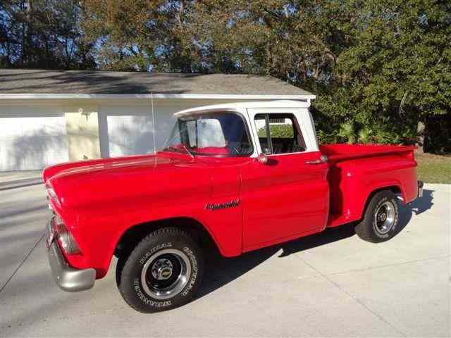 1958 to 1960 chevrolet apache for sale on. Black Bedroom Furniture Sets. Home Design Ideas
