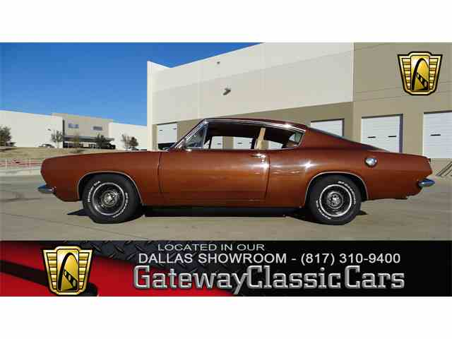 Picture of Classic 1967 Barracuda located in Texas - $14,995.00 Offered by Gateway Classic Cars - Dallas - MRTN