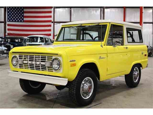Picture of Classic '71 Bronco located in Michigan - $29,900.00 Offered by GR Auto Gallery - MRXT