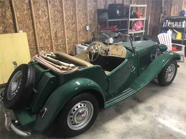 Picture of Classic '52 MG TD located in Dublin OHIO - $30,000.00 - MRYL