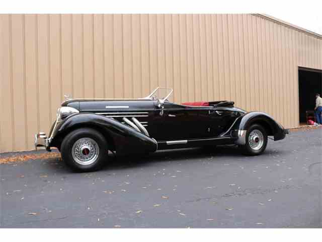 Picture of Classic 1936 8-98 Speedster Replica Auction Vehicle Offered by GAA Classic Cars Auction (Greensboro) - MPX7