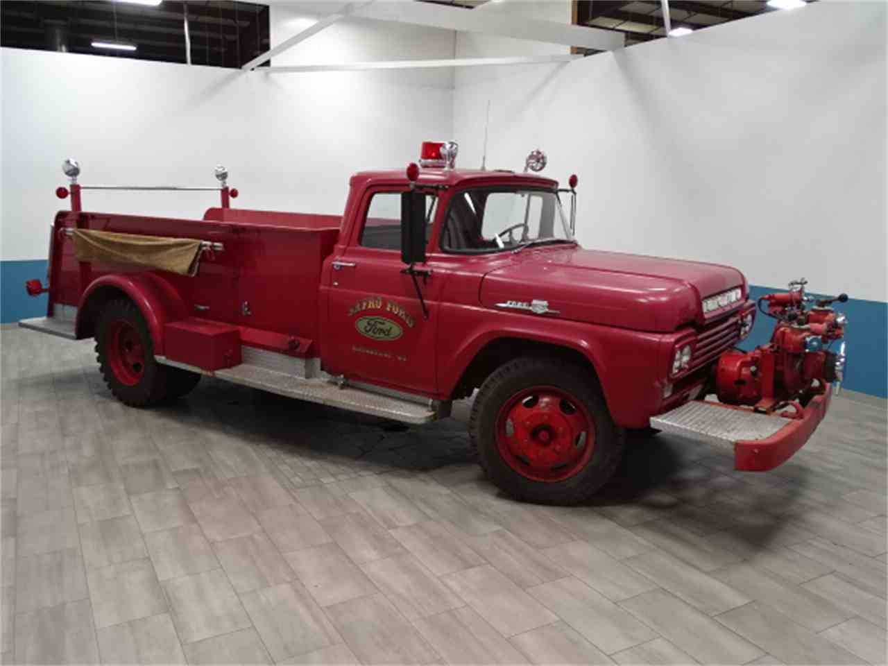 Large Picture of '59 Fire Truck - MSFR