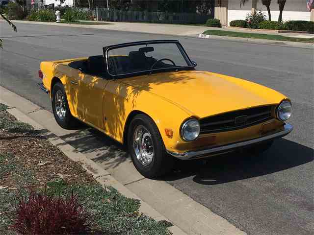 Picture of '72 TR6 - MSGF