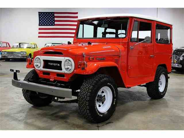Picture of '74 Toyota FJ 40 Landcruiser located in Kentwood Michigan - $53,900.00 Offered by GR Auto Gallery - MSLU