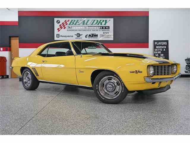 Picture of Classic '69 Chevrolet Camaro Z28 located in Boise IDAHO Offered by a Private Seller - MSOG