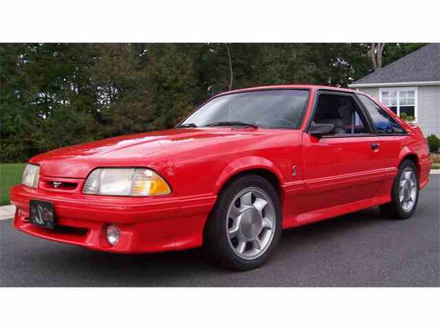 Picture of 1993 Mustang Cobra located in Greensboro NORTH CAROLINA Auction Vehicle - MSWD