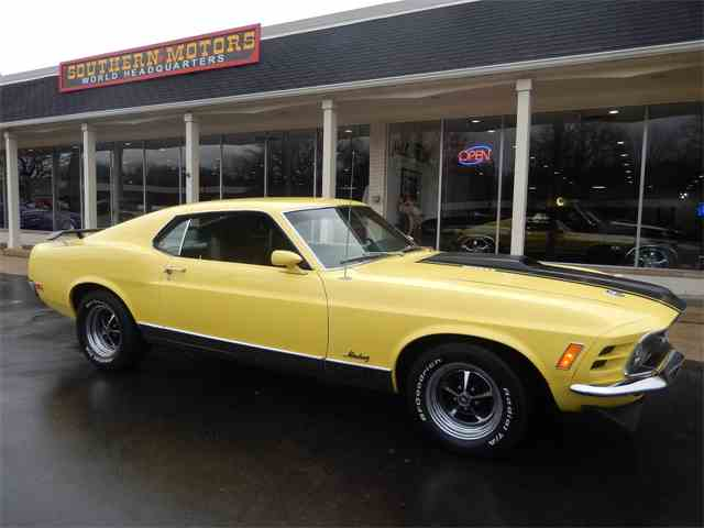 Picture of '70 Mustang Mach 1 - MQ7G