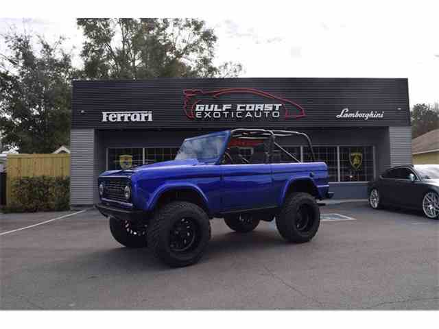 Picture of Classic 1973 Ford Bronco located in Mississippi - $74,900.00 Offered by Gulf Coast Exotic Auto - MSZ5