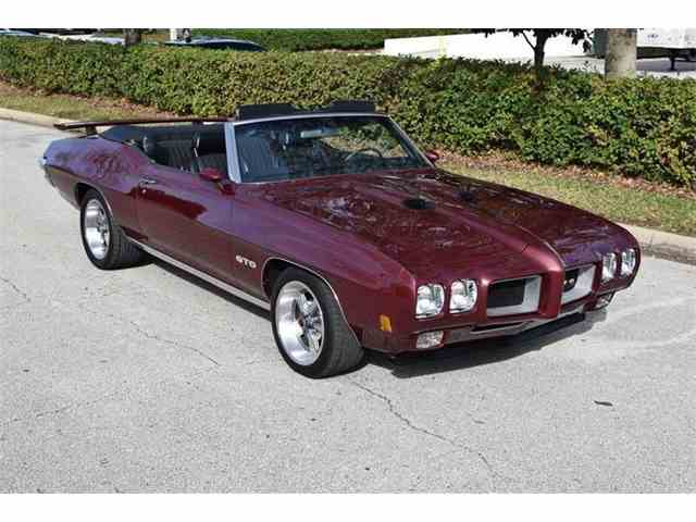 Picture of Classic '70 Pontiac GTO Auction Vehicle Offered by Orlando Classic Cars - MT0L