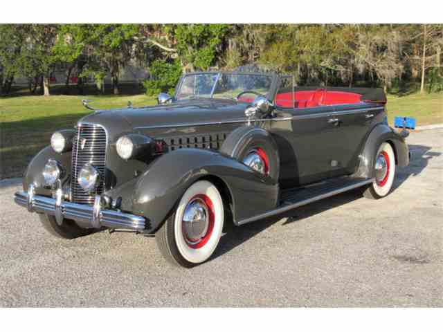 Picture of '36 Series 75 Convertible Sedan - MT6W