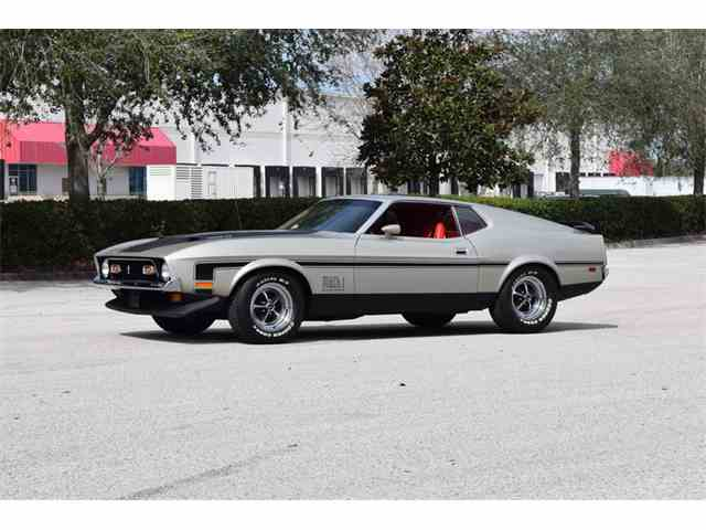 Picture of '71 Mustang Mach 1 - MT7Y