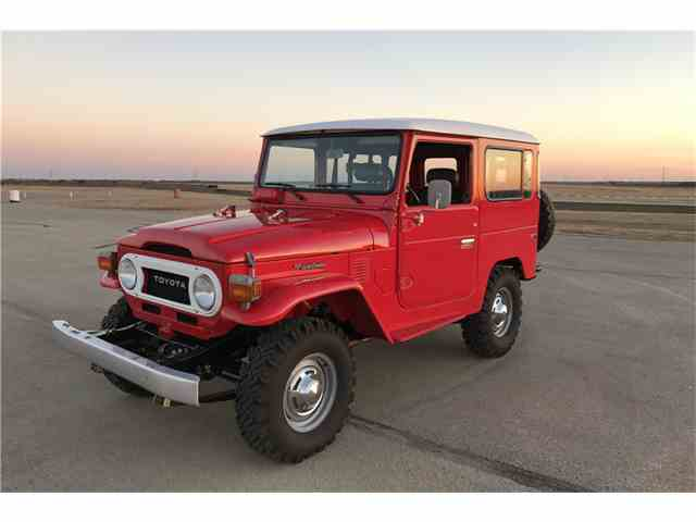 Picture of 1977 Land Cruiser FJ Offered by Barrett-Jackson Auctions - MTJ1