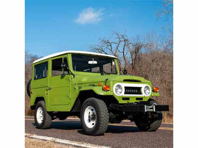 Picture of Classic 1971 Land Cruiser FJ located in Missouri Offered by MotoeXotica Classic Cars - MTLD