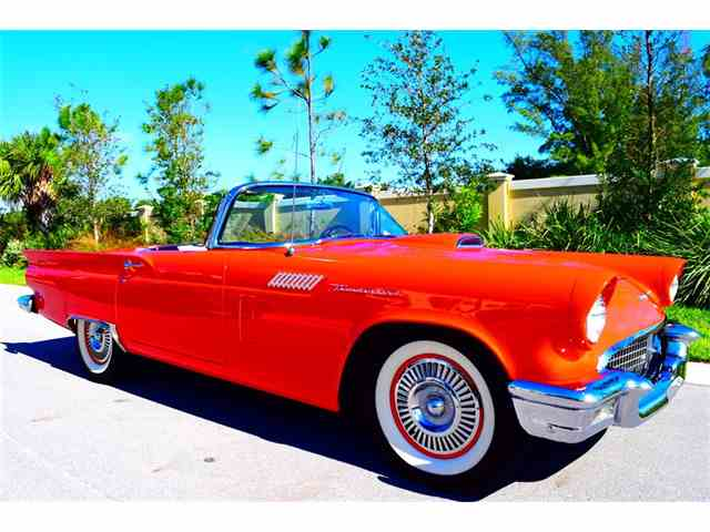 Picture of '57 Thunderbird - $49,995.00 Offered by Primo Classic International LLC - MTNM
