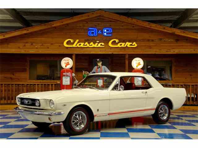 Picture of Classic 1966 Mustang GT located in New Braunfels TEXAS - $38,900.00 Offered by A&E Classic Cars - MU4Y