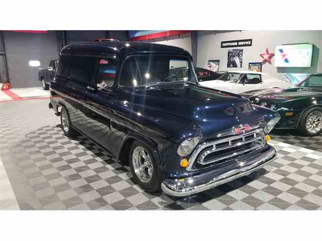 Picture of Classic '57 Chevrolet 3100 located in Elkhart INDIANA - $39,200.00 Offered by Rock Solid Motorsports - MUCE