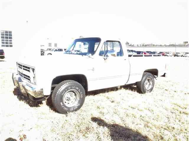 Picture of '87 Chevrolet Silverado Auction Vehicle - MPY5