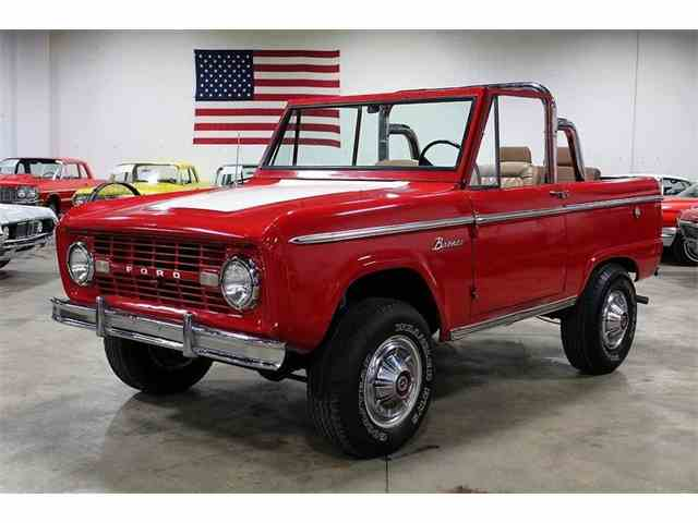 1966 to 1977 ford bronco for sale on. Black Bedroom Furniture Sets. Home Design Ideas
