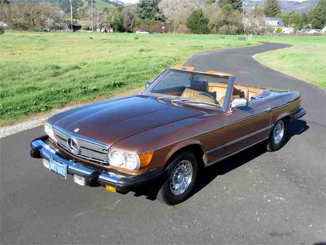 Picture of '78 Mercedes-Benz 450SL located in Sonoma CALIFORNIA - $14,850.00 - MUOS