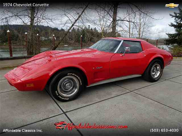 Picture of 1974 Chevrolet Corvette located in Oregon - $17,500.00 Offered by Affordable Classics Inc - MUTW