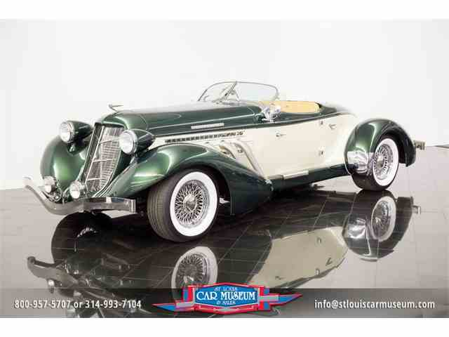 Picture of 1936 Auburn Replica located in Missouri Offered by St. Louis Car Museum - MUWB