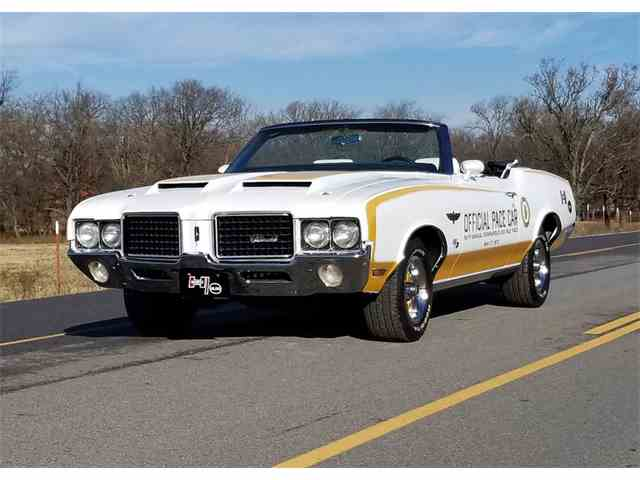 Picture of Classic '72 Oldsmobile Cutlass Indy Pace Car Tribute located in Oklahoma City OKLAHOMA Auction Vehicle Offered by Leake Auction Company - MUZA