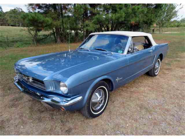 Picture of Classic 1965 Mustang Auction Vehicle Offered by Leake Auction Company - MV4S