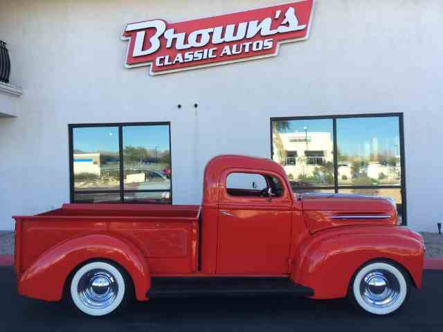Picture of Classic 1945 Ford Pickup Offered by Brown's Classic Autos - MQGA