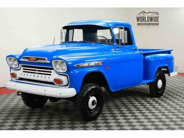 Picture of 1959 Chevrolet 3100 Offered by Worldwide Vintage Autos - MVQB