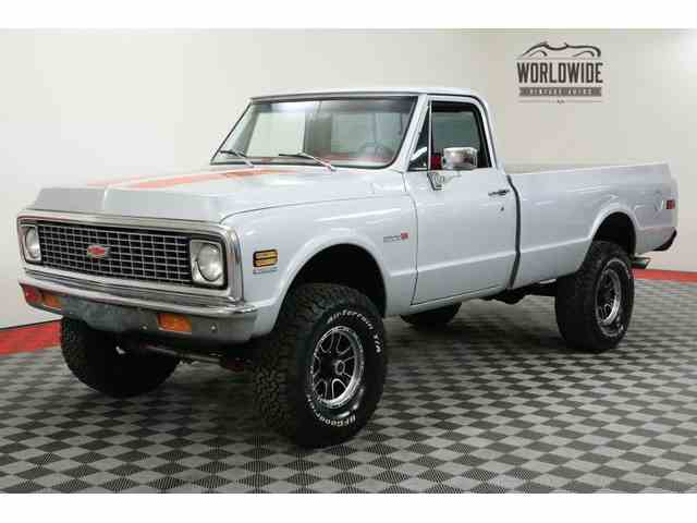 Picture of Classic 1972 Chevrolet C/K 20 Offered by Worldwide Vintage Autos - MVQE