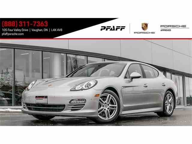Picture of 2012 Panamera located in ONTARIO Offered by Pfaff Porsche - MVSM