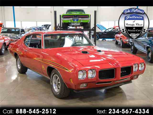 Picture of Classic 1970 Pontiac GTO Offered by John Kufleitner's Galleria - MVUT