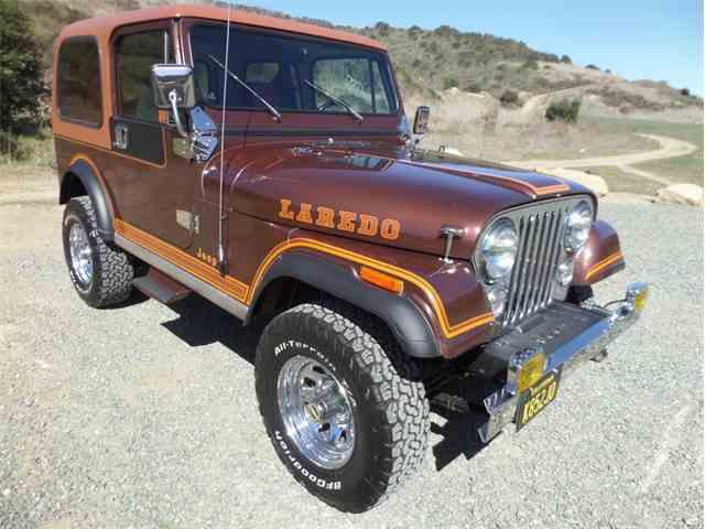 Picture of 1983 CJ7 located in Laguna Beach California - MVW8