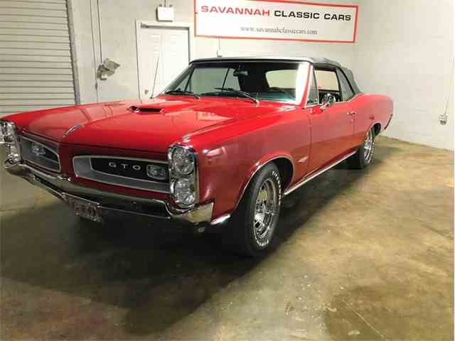 Picture of Classic '66 Pontiac GTO - $53,950.00 Offered by Savannah Classic Cars - MVX5