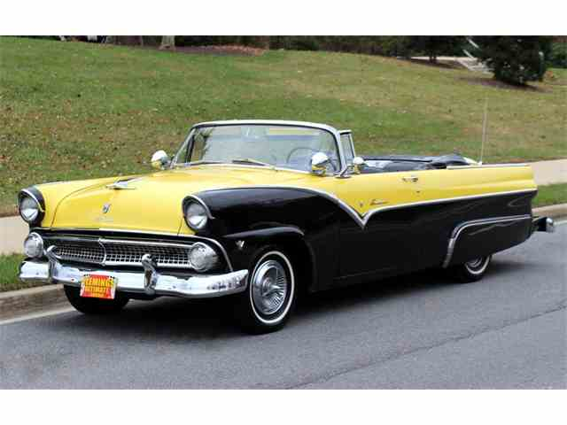 Picture of Classic '55 Ford Sunliner - $39,990.00 Offered by Flemings Ultimate Garage - MW3O