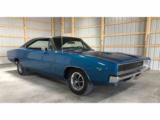 1968 Dodge Charger For Sale On Classiccars Com