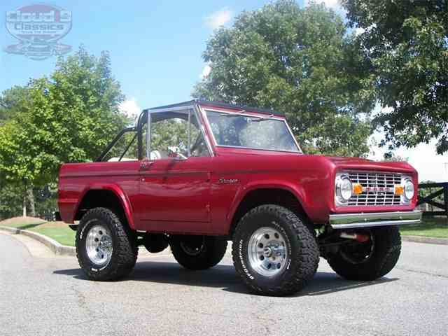 Picture of '69 Bronco - MQJR