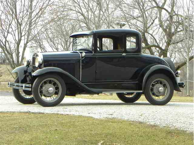 1931 Ford Model A Standard Coupe