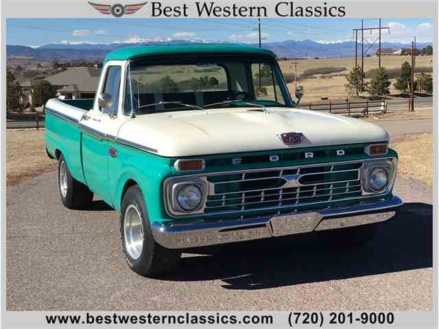 Picture of '66 F100 - MWK7