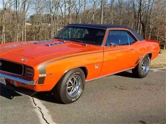 Picture of Classic 1969 Chevrolet Camaro RS/SS Auction Vehicle Offered by GAA Classic Cars Auctions - MQKM