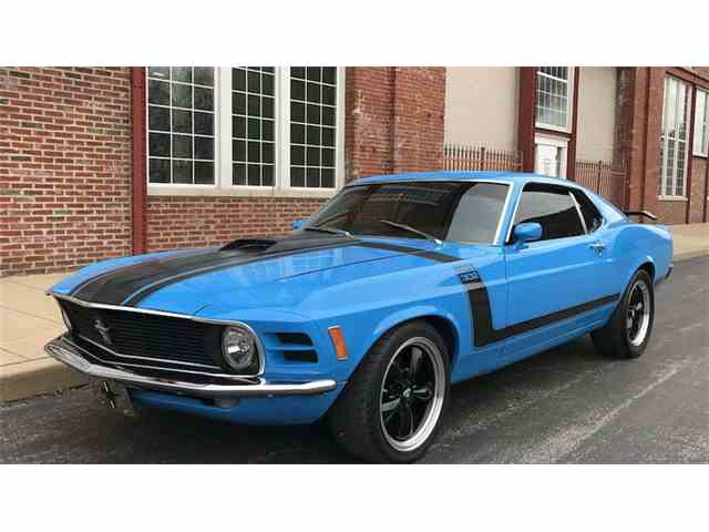 1970 Ford Mustang Mach 1 For Sale On Classiccars Com