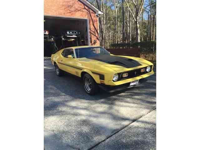 Picture of '72 Mustang Mach 1 - MPZ0