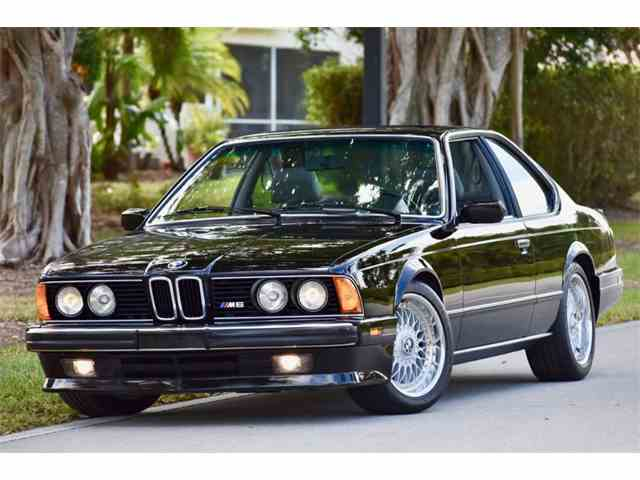 To BMW M For Sale On ClassicCarscom - 1988 bmw m6 for sale