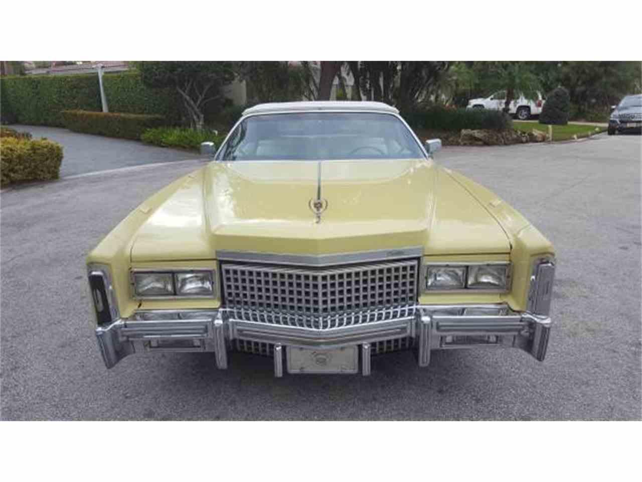 Cadillac Eldorado For Sale ClassicCarscom CC - Pompano classic cars