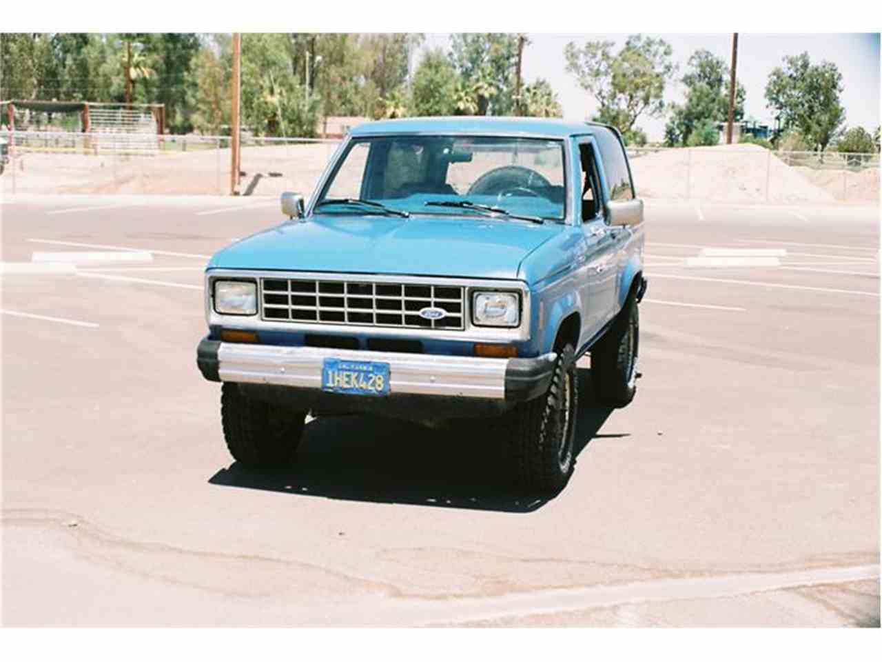 Large Picture of '84 Bronco II - 2O1A
