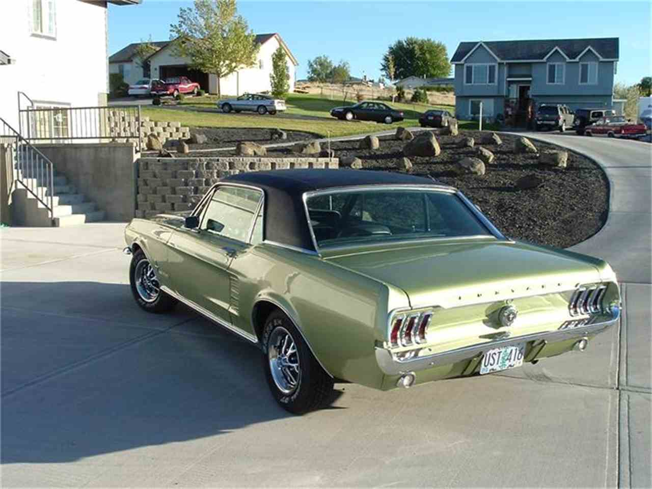 1967 ford mustang for sale cc 150950. Black Bedroom Furniture Sets. Home Design Ideas