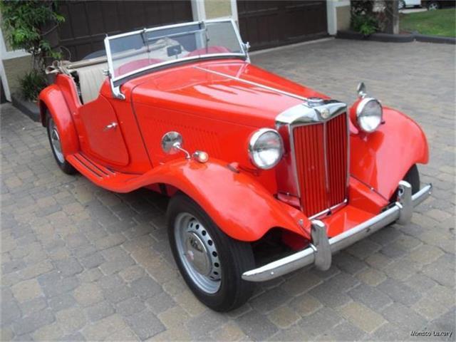 1950 MG TD | 182787